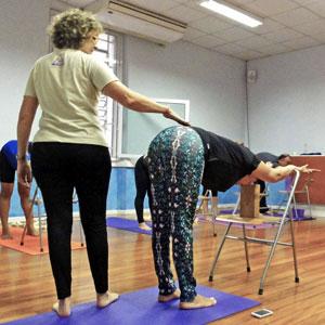 Aulas Práticas de Yoga de Iyengar