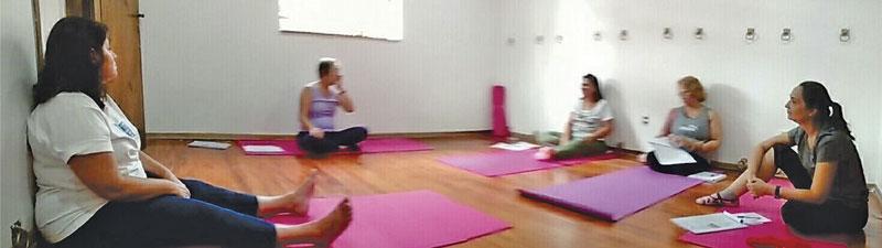 Escola de yoga sala